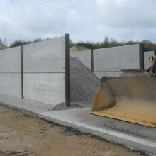 concrete storage bays